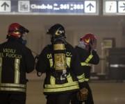 Aeroporto Fiumicino interamente chiuso fino alle 14